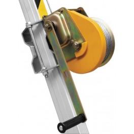TREUIL DE SECURITE POUR HPTM13 AVEC CABLE DE 25 M, CAPACITE 140 KG (CATEC). HARNAISPRO.