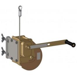 TREUIL DE LEVAGE AVEC CABLE DE 25 M, CAPACITE 500 KG, POUR PORTIQUES MOBILE HPKSB___K1 (CATEC). HARNAISPRO.